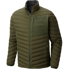 Mountain Hardwear M´s StretchDown Jacket Surplus Green